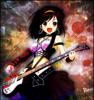 Haruhi Guitar by StormyNight83