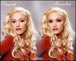Gwen Stefani retouch