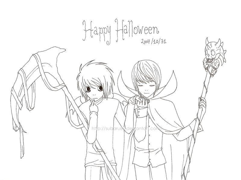Kira & L Raito_L_Halloween_by_subaru87