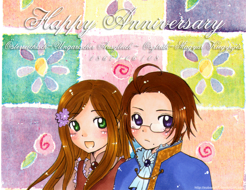 Happy Wedding Anniversary by subaru87 on deviantART