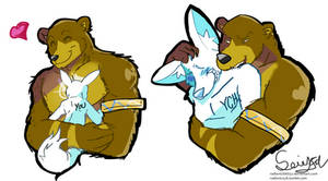 Bear sticker commission