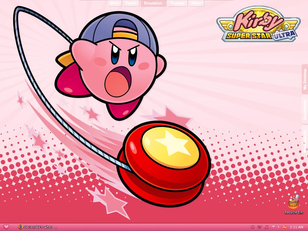 Yoyo Kirby Desktop by astroasis