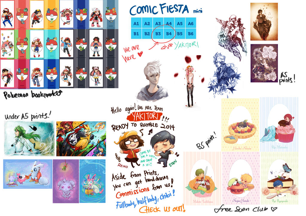 COMIC FIESTA MINI 2014 by asahirureiko