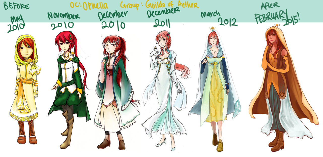 GoA: Before and After Ophelia 2015 by asahirureiko