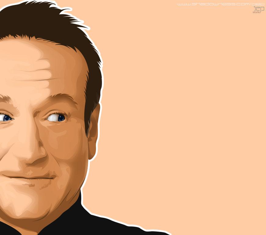 Robin Williams by mangjepri