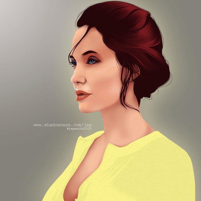 Jolie A. by mangjepri