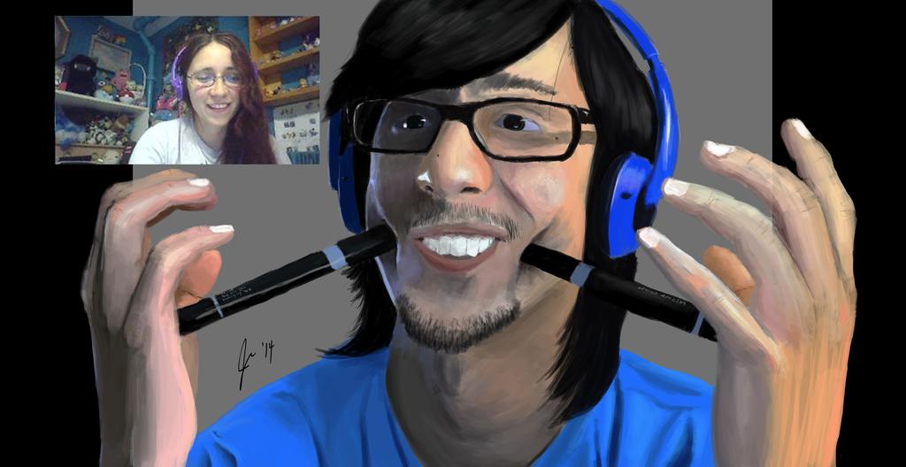 Skype Night by Koldrage