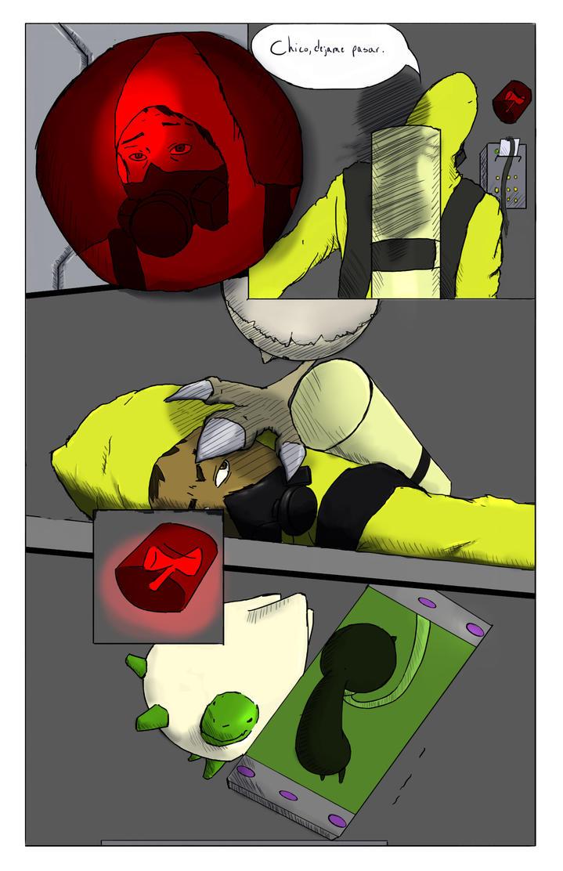 Mini comic - Escape pg02 by Koldrage