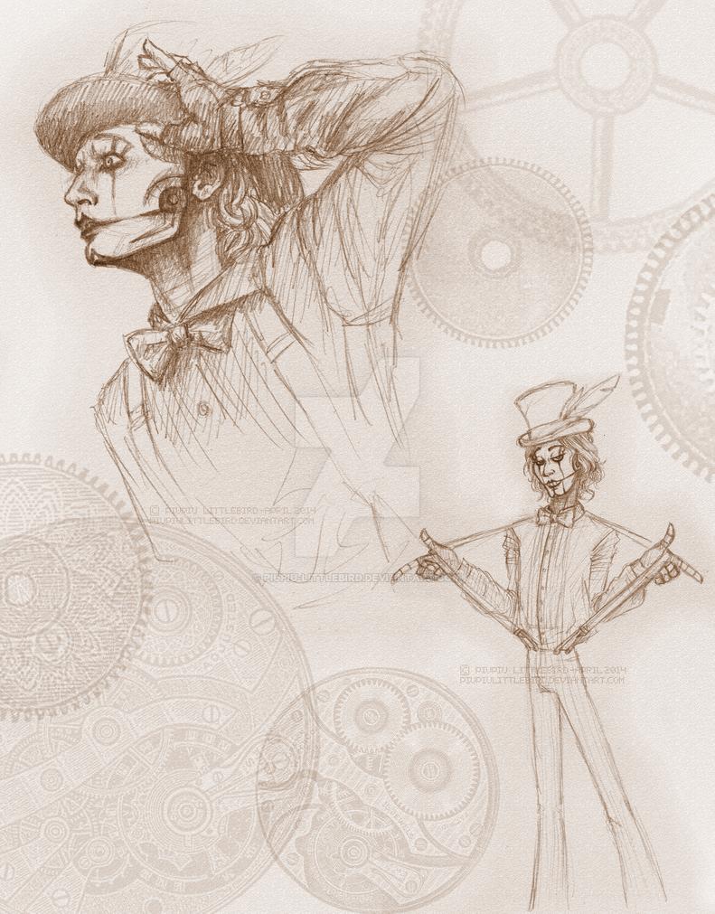 The Jon doodles by PiuPiu-Littlebird