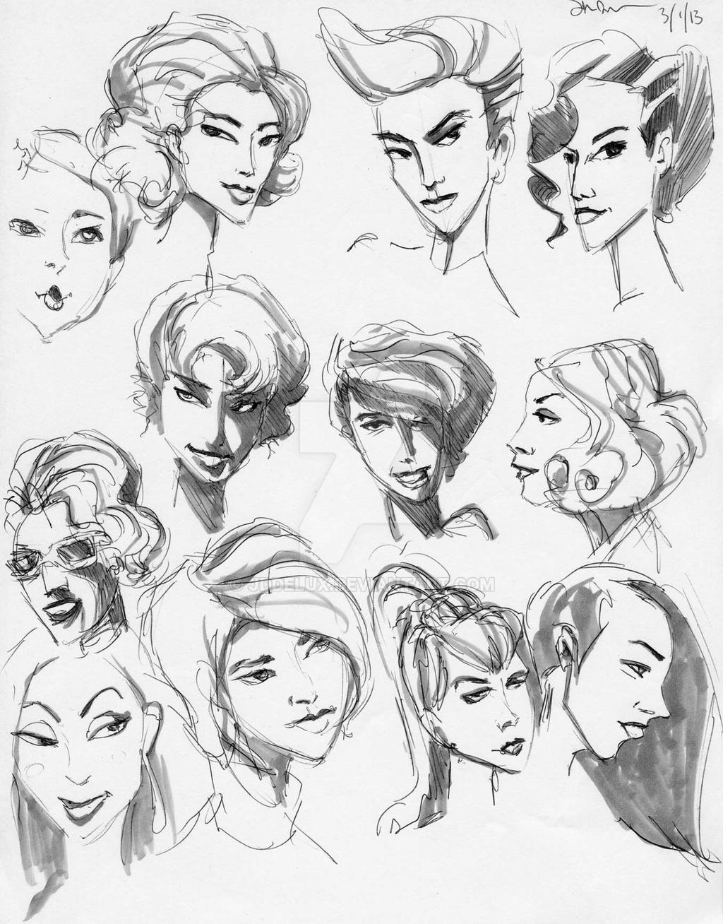 Woman Hairstyles By Jddelux On Deviantart