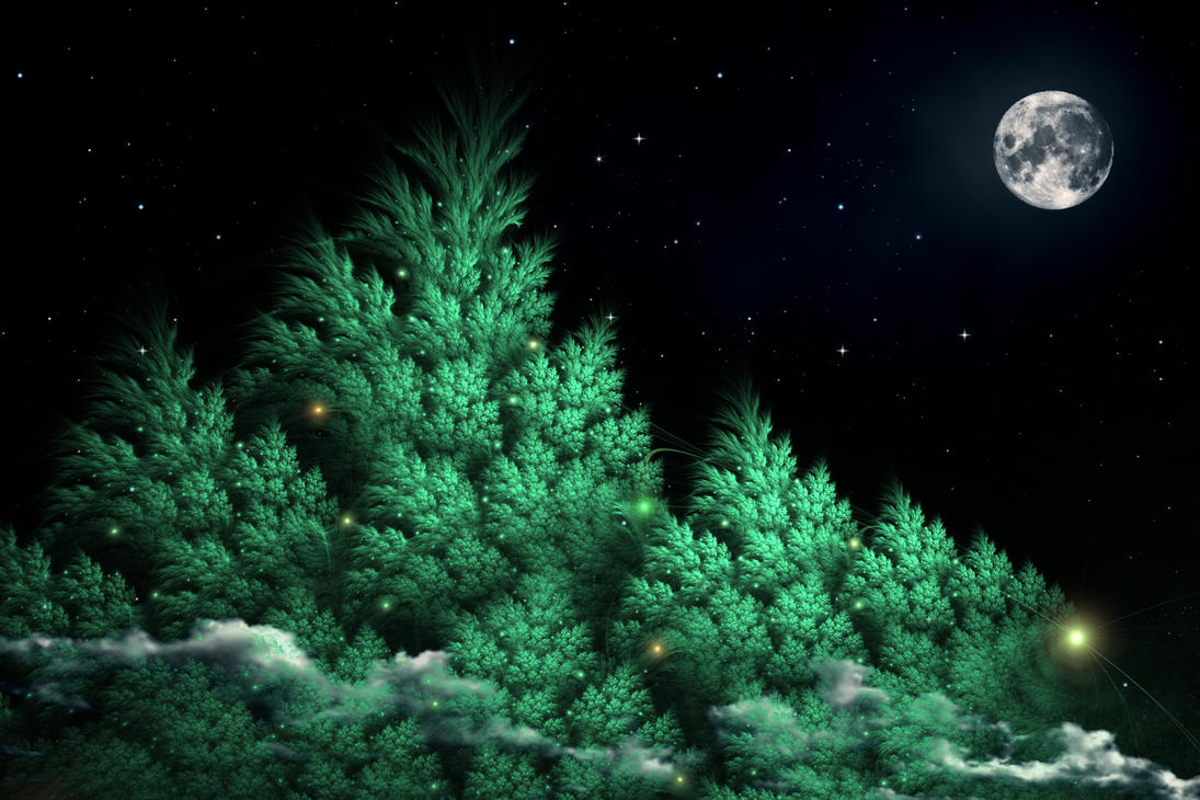The Moon over Mirkwood by Klytia70