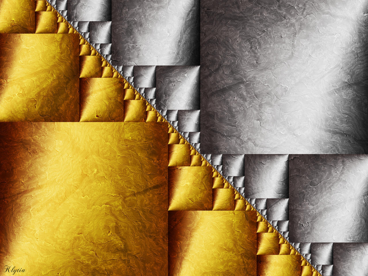 Gold And Silver Ii By Klytia70 On Deviantart
