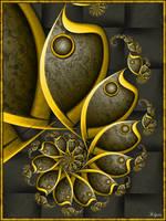 Metallic Spiral by Klytia70