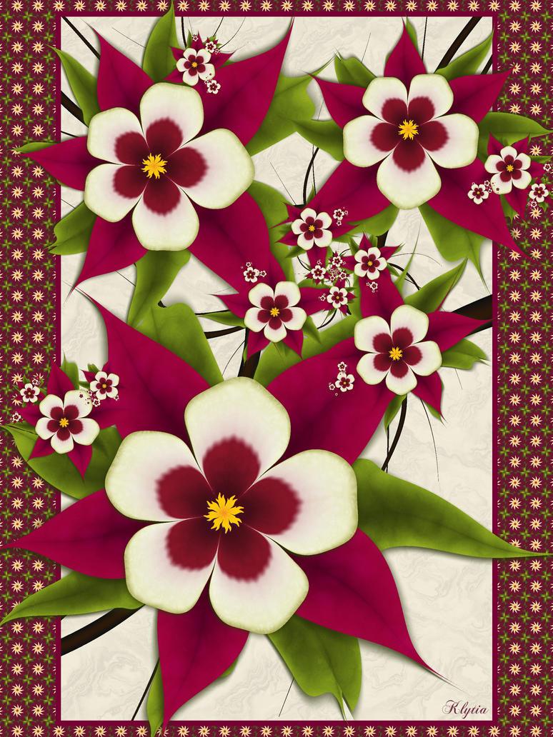 Herbarium: Columbine (Aquilegia) by Klytia70