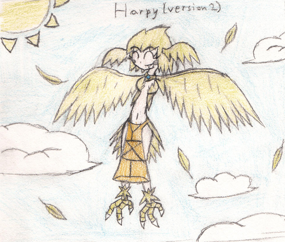 Special extra: Harpy (version 2) by eternalJonathan