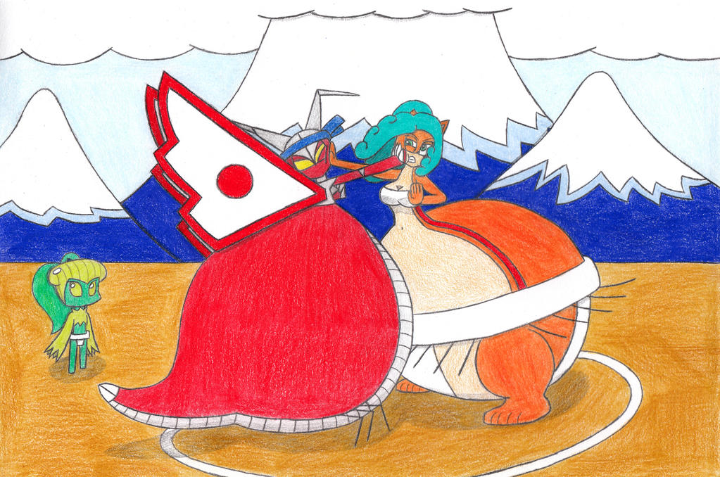 Contest submission: Sumo Sophia match by eternalJonathan