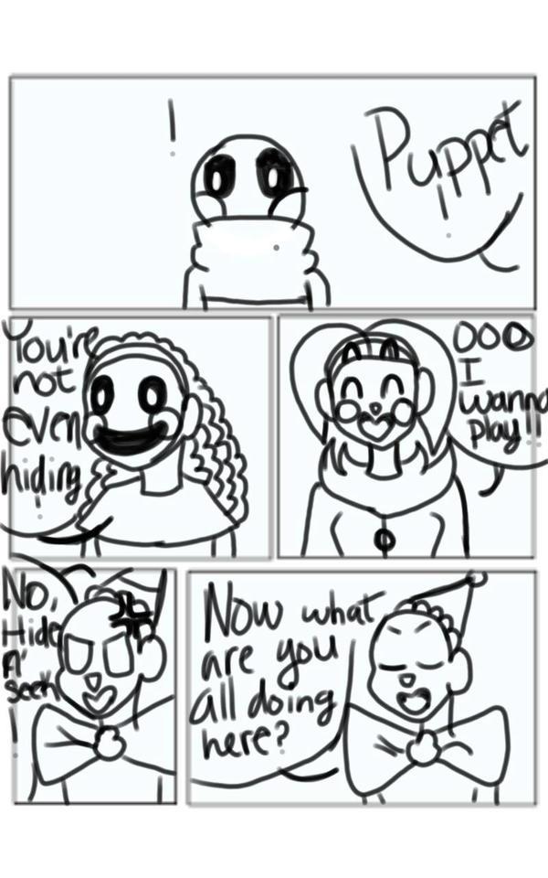 Being like You Fnaf SL Comic: Pg. 4 by UndertaleSokemo