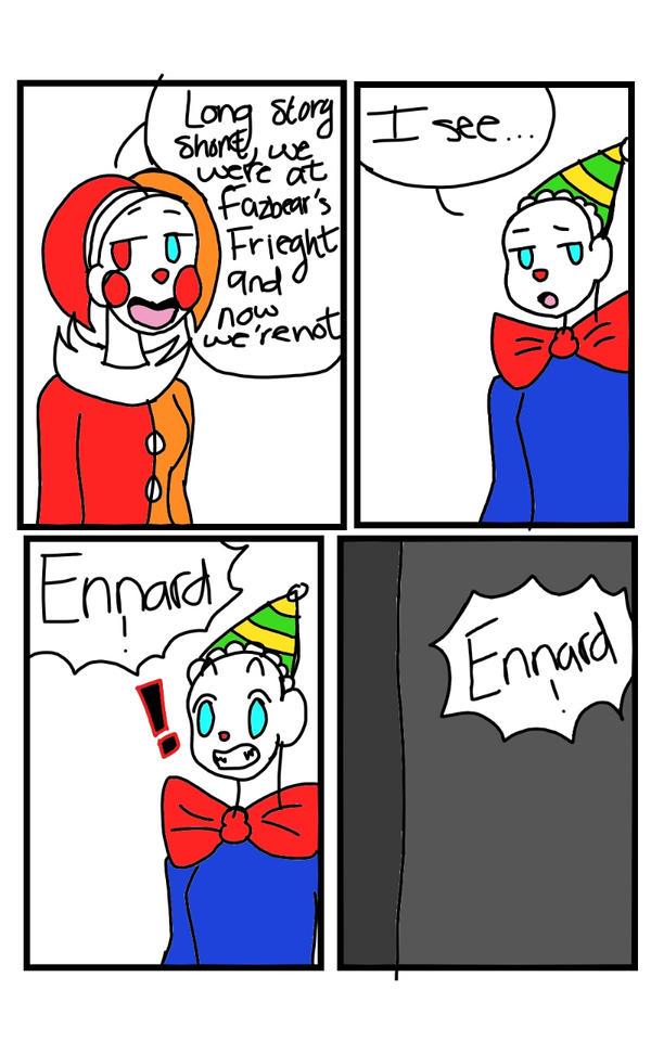 Being Like You Fnaf SL Comic: Pg. 5 by UndertaleSokemo