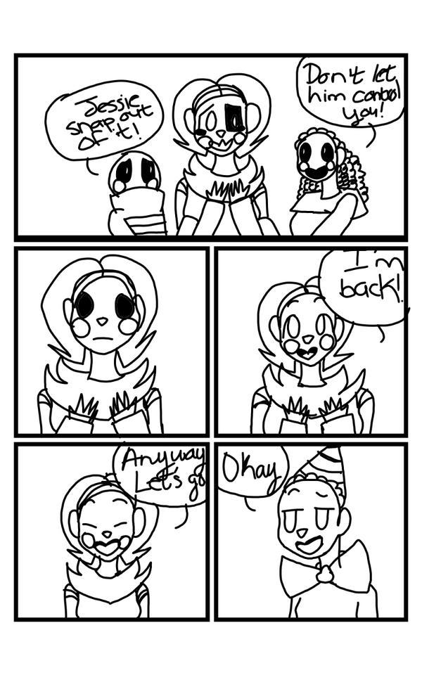 Being Like You Fnaf SL Comic Pg.8 by UndertaleSokemo