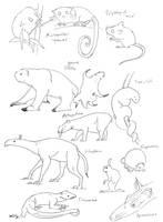 Gondwanan mammals by bensen-daniel