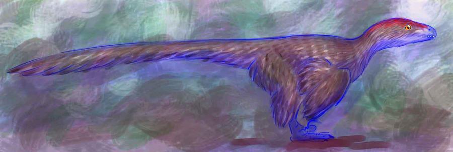 Dromaeosaur by bensen-daniel