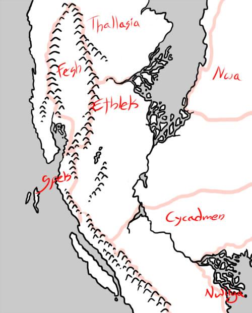 Southern Barbaric Lands by bensen-daniel
