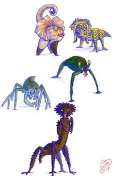 Land vertebrates