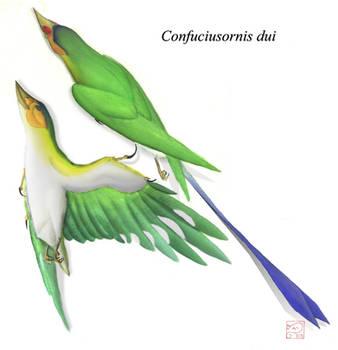 Confuciusornis dui by bensen-daniel