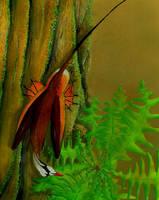 Sharovipteryx mirabilis by bensen-daniel