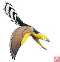 Sinornis santensis by bensen-daniel