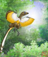 Epidendrosaurus ninchengensis by bensen-daniel