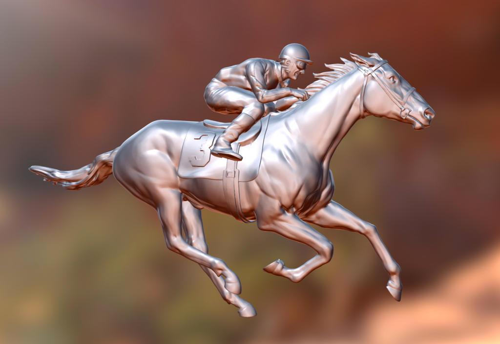 Racehorse by sapsuckingseaslug