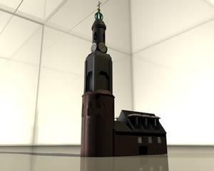 'Munttoren' Amsterdam in 3D