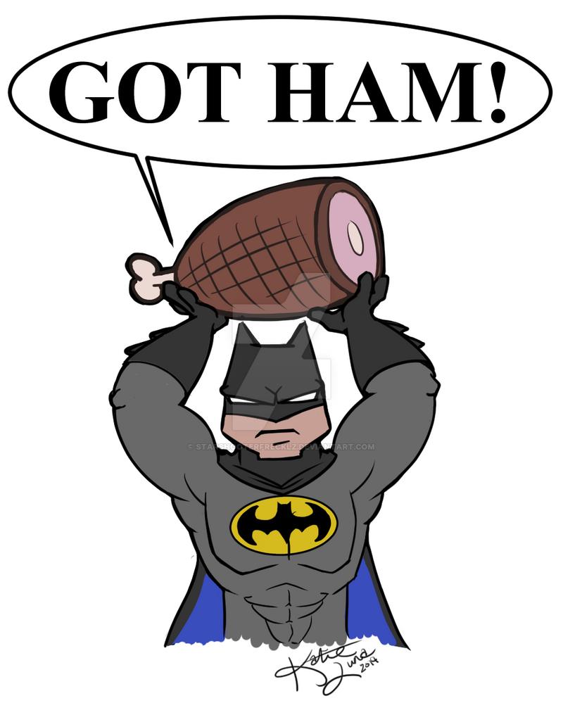 Got Ham! by StarShooterFrecklz