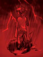 Red Lightning by Kime-baka-onee-chan