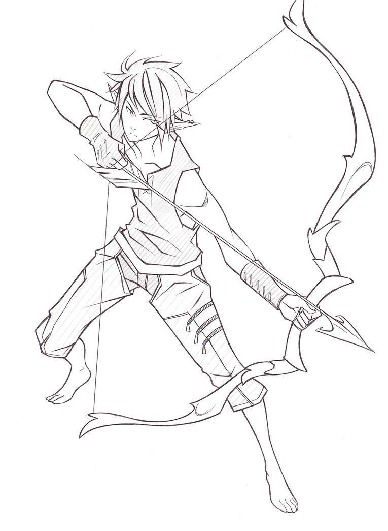 Elven Warrior by Kime-baka-onee-chan on DeviantArt