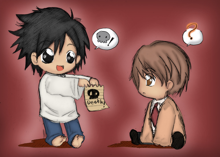 death note chibi light - photo #15