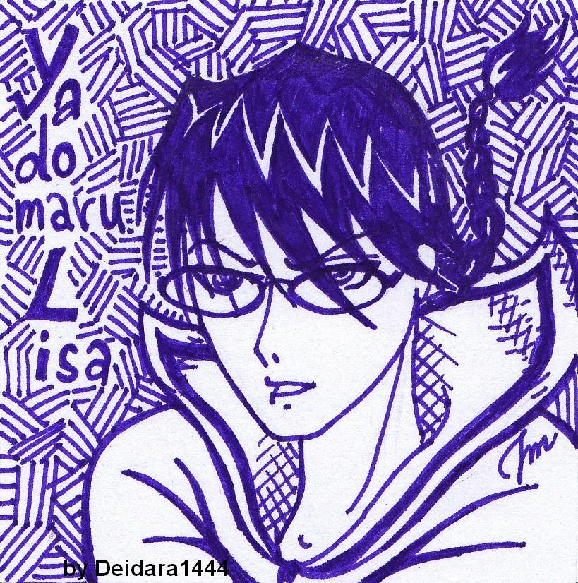 Yadomaru Lisa by deidara1444