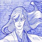 Ukitake Jushiro - gift to Lady1Venus by deidara1444