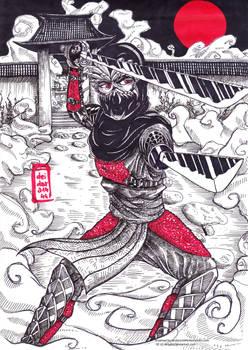 Art Trade to AKoukis - Seishiro Shinoda (OC)