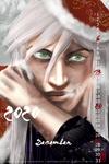 2020 Calendar - December - Ukitake - finished by deidara1444