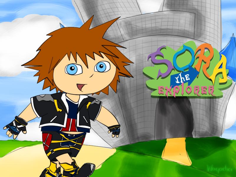 Sora The Explorer By Waqadia On DeviantArt