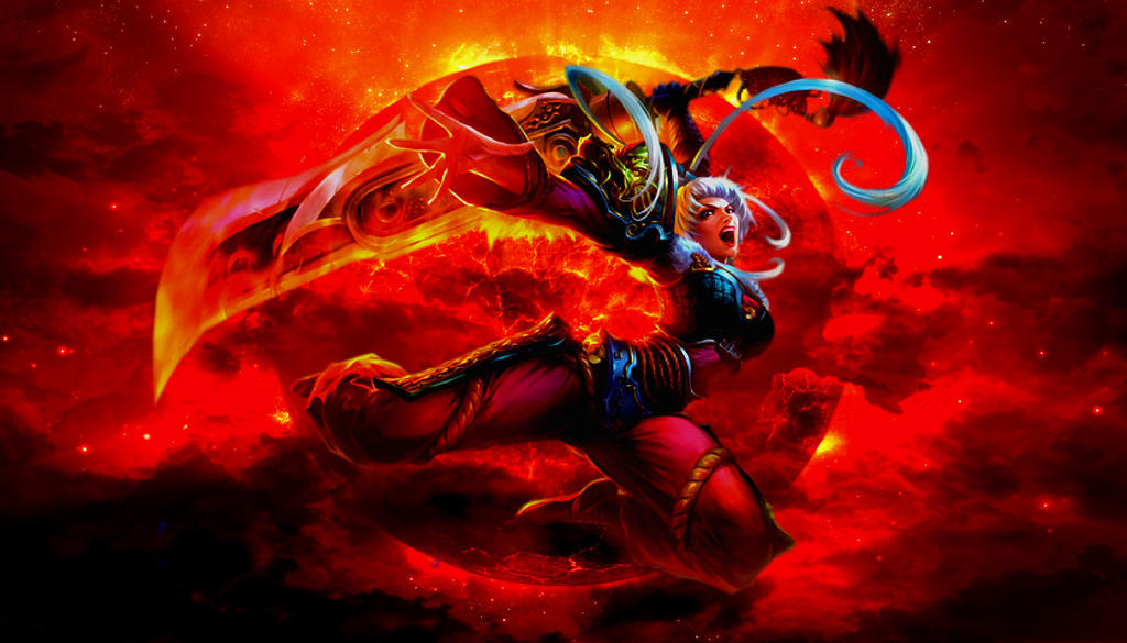 Dragonblade Riven Wallpaper By Adriancio On DeviantArt