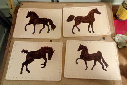 commision - table mats for christmas present - 02