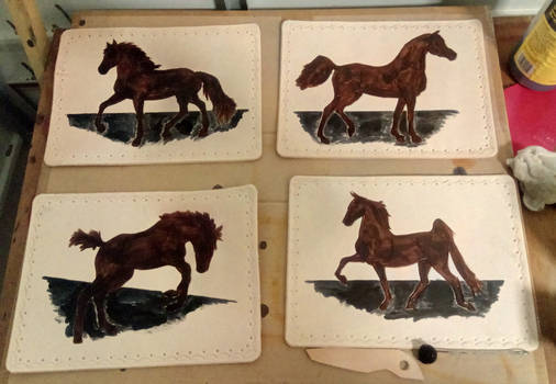 commision - table mats for christmas present - 03