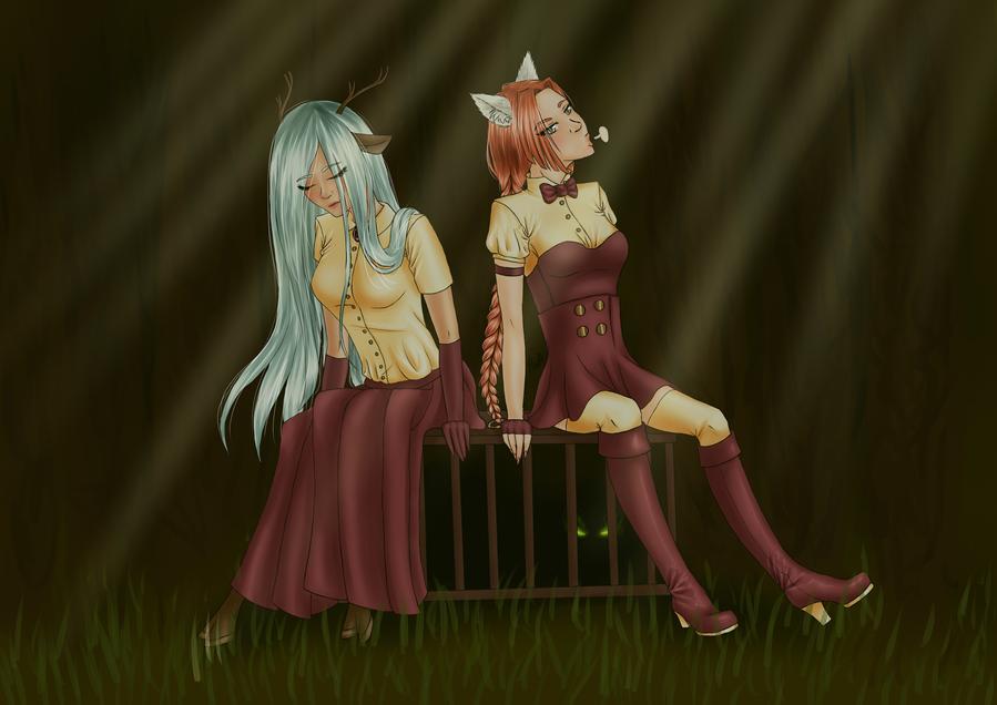 AD: Bunny hunting by HinoteNoAkai