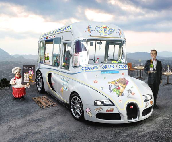 Bugatti Veyron Ice Cream Van By Mr Nerb