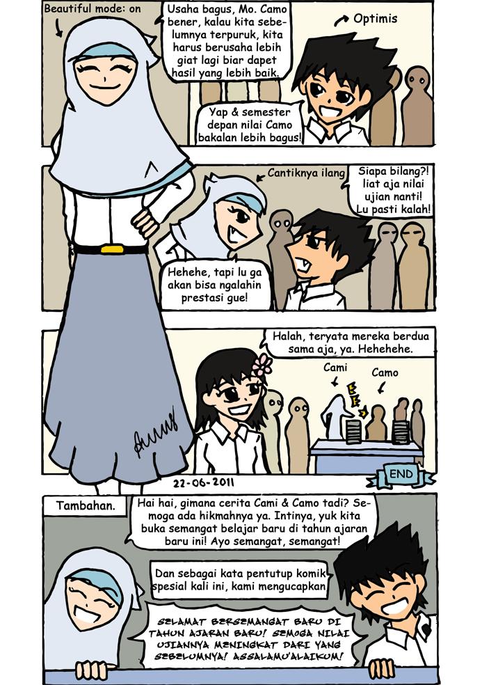 Semangat Baru di Tahun Ajaran Baru Part Three by annasmaulana