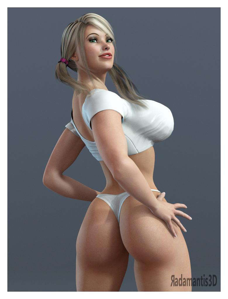Julia Back by Radamantis3d