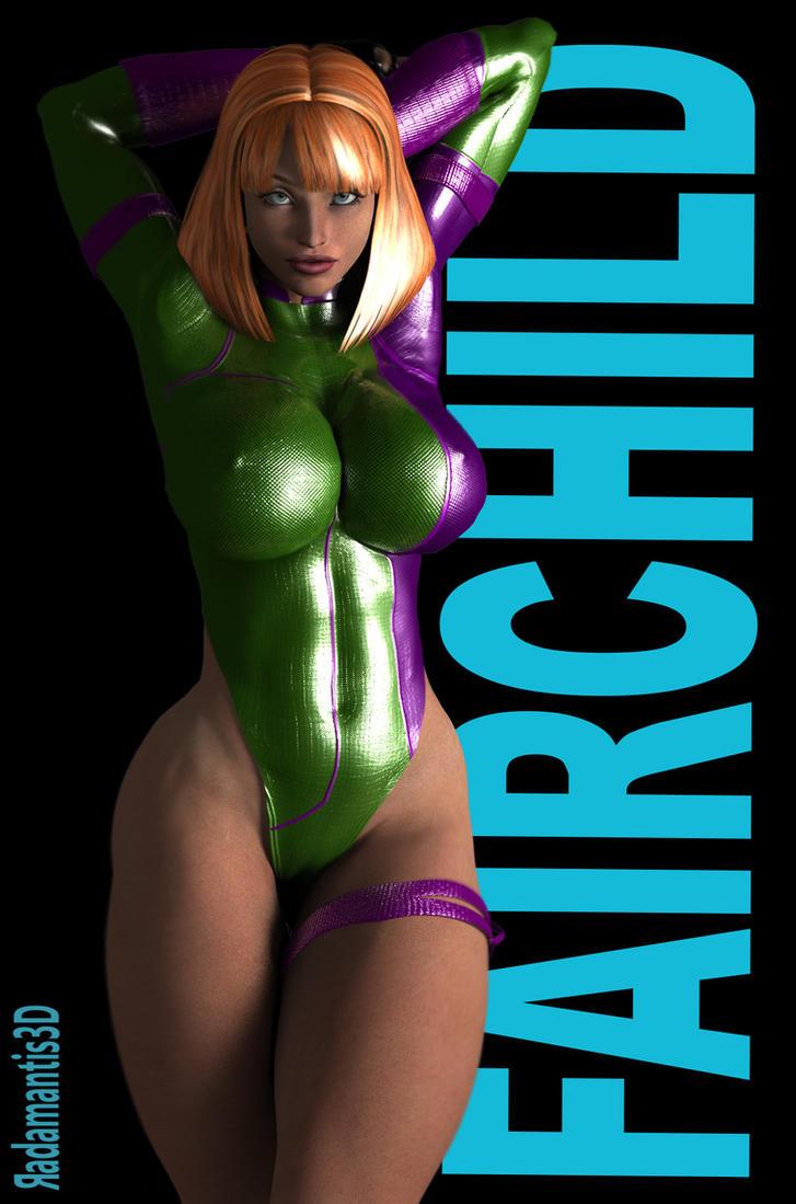 Caitlin Fairchild by Radamantis3d